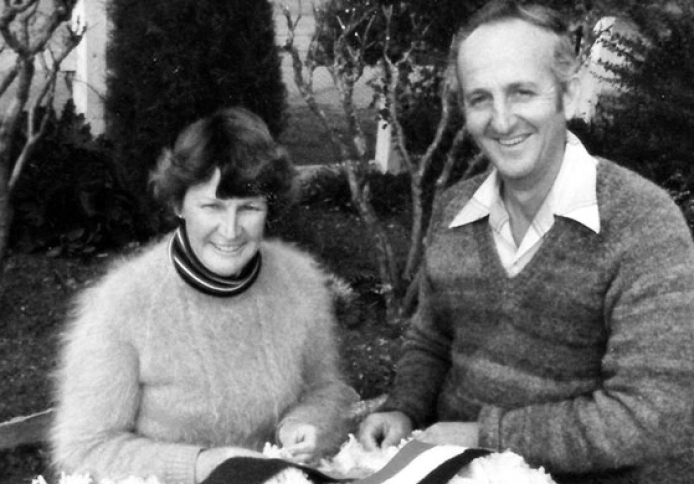 Stud founders Neville and Mavis Kopp.